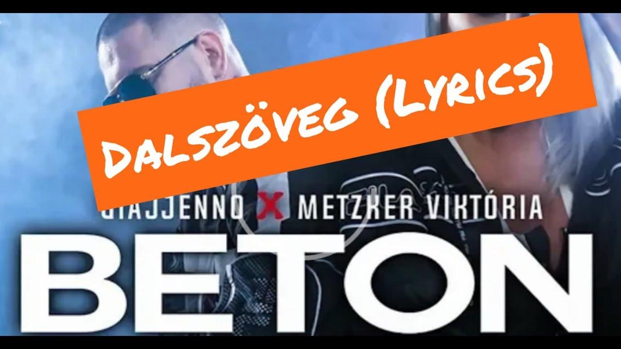 Download Giajjenno x Metzker Viktória-Beton Dalszöveg (Lyrics)