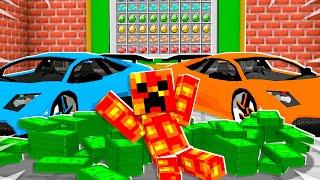 So I Took Baby Preston to Billionaire School... - Minecraft