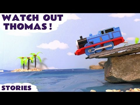 Thomas and Friends Watch Out Thomas Toy Trains Stories with Disney Cars and Paw Patrol TT4U