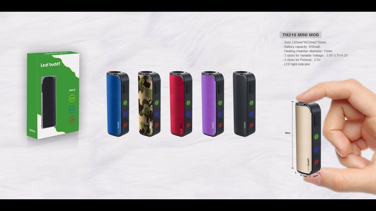 Leaf Buddi TH- 210 Mini Box Mod for CBD oil