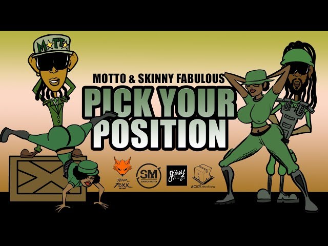 Motto x Skinny Fabulous - Pick Your Position (Official Promo Video)