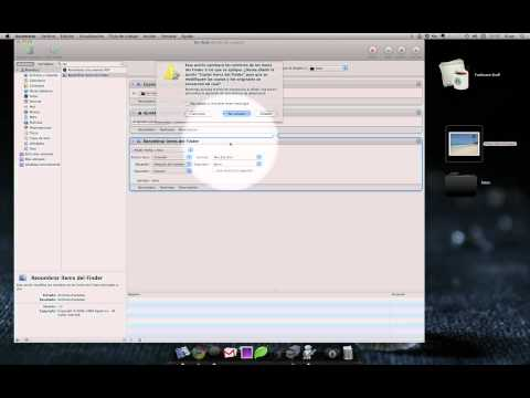 Automator Mac OS X: copiar, redimensionar y sincronizar