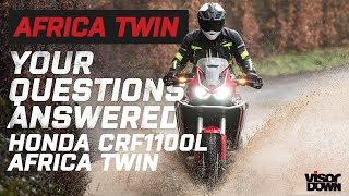 Honda CRF1100L Africa Twin | Your Questions Answered | Visordown.com
