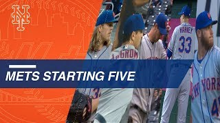 Starting pitching is keeping the Mets hot in April