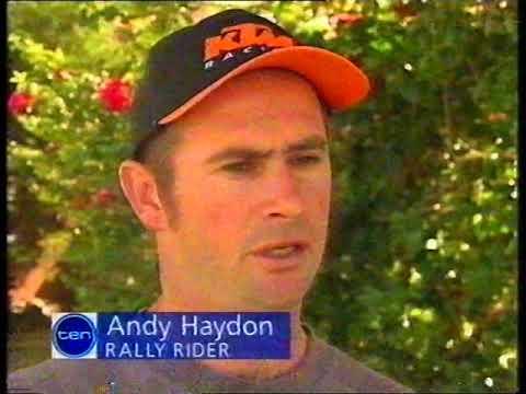 10 News - Andy Haydon Sponsorship Story