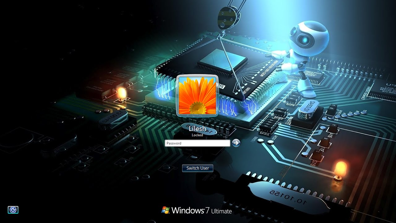 Change windows 7 logon screen background no software - Windows 7 wallpaper changer software ...