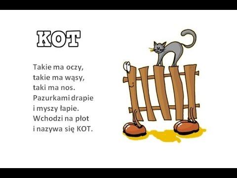 Zabawy Wierszyki Paluszkowe Kot
