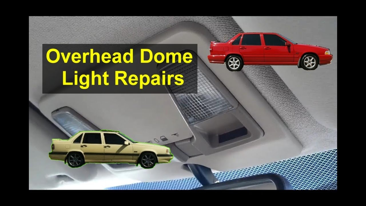 overhead dome light assembly removal bulb replacement sunroof motor access auto repair series [ 1280 x 720 Pixel ]