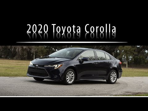 New 2020 Toyota Corolla Performance and Design Highlight