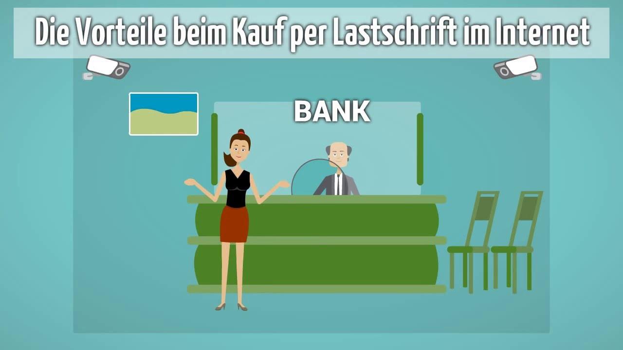 Lastschriftzahlung