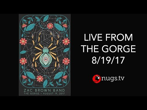 Zac Brown Band - Live from The Gorge 8/19/17