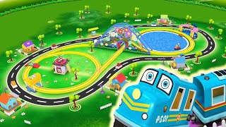 Toy Train for Children - Toy Factory Cartoon Train for kids - Choo Choo Train - Thomas Cartoon