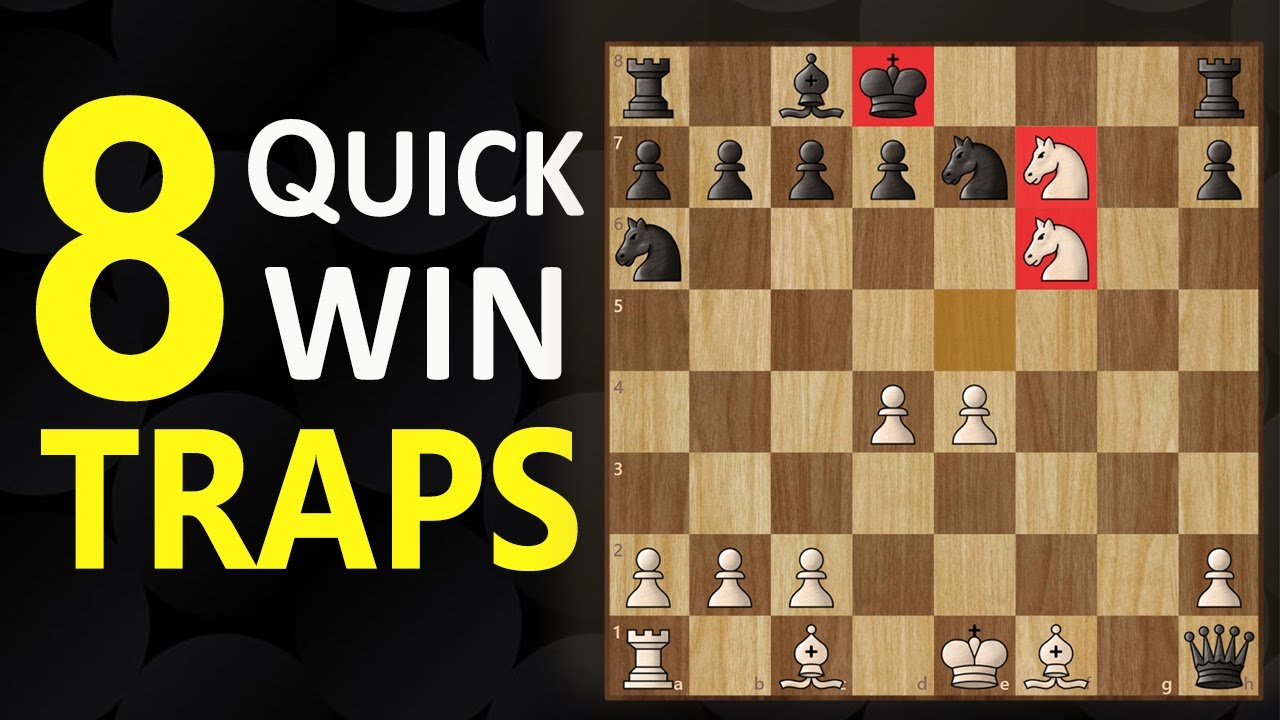 8 Deadly TRAPS in the King's Gambit | Chess Opening Tricks to WIN FAST