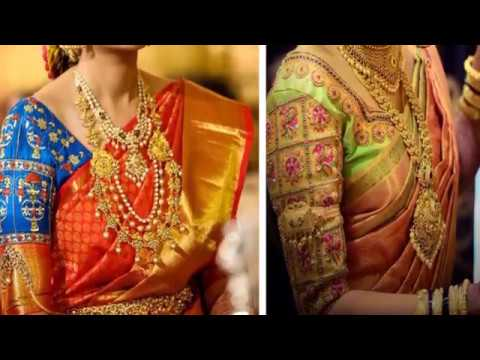 14a7e3b81b24c7 Top 20 Latest Silk Saree Blouse Designs 2018