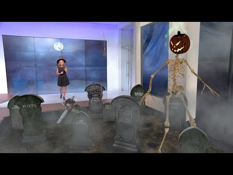 Halloween At The Weather Channel