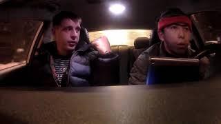 prank.первый день за рулём такси