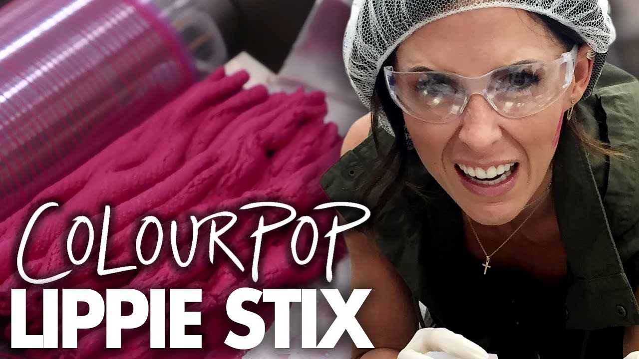 Learning How Lipstick is Made at the ColourPop Factory! (Beauty Trippin)