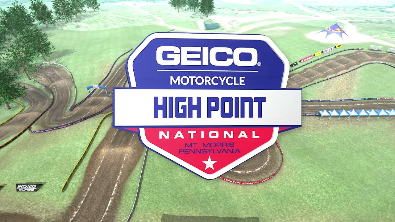 2021 High Point National - Animated Track Map