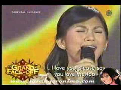 Sarah Geronimo - I Love You