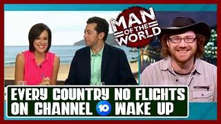Graham Hughes on Wake Up Australia talking Odyssey Expedition and Jinja Island