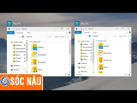 Tạo nhiều màn hình Desktop trên Windows 10