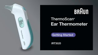 Braun Thermoscan Thermometer - IRT3020