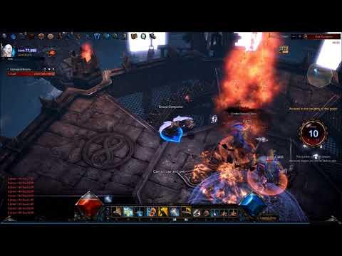 MU Legend - First Time Endless Tower - Dark Lord Gameplay