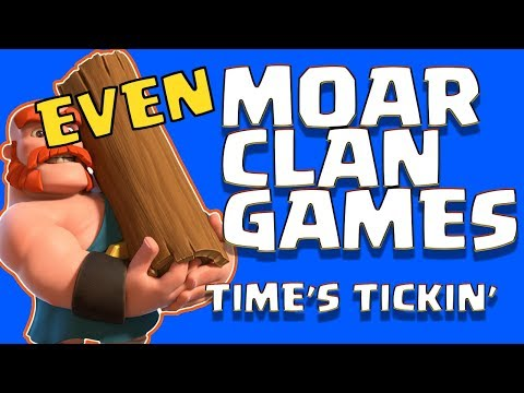 EVEN MORE CLAN GAMES!  WILL WE FAIL???  CLASH OF CLANS