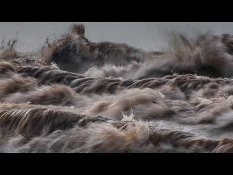 Photographer Dave Sandford captures Lake Erie during storms