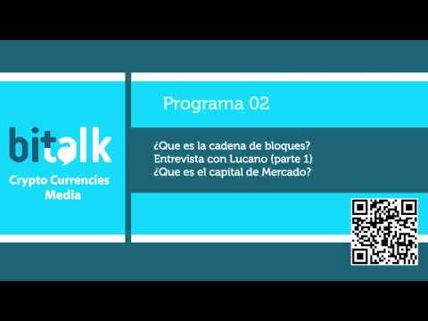 02 ¿Que es la cadena de bloques?, Entrevista con Lucano (Parte 1) de MundoBitcoin
