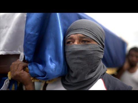 Nicaragua: funérailles d