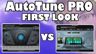 antares AutoTune Pro vs. Pitch Correction (Logic Pro X)