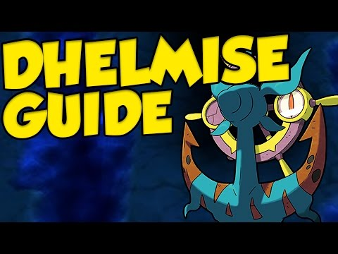 DHELMISE OP! Pokemon Sun and Moon Dhelmise Moveset and Dhelmise Guide