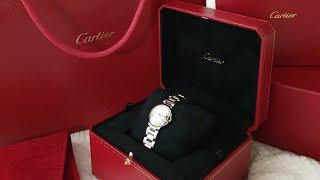 셀프선물 브이로그 vlog 첫 까르띠에 시계 ⌚♥️