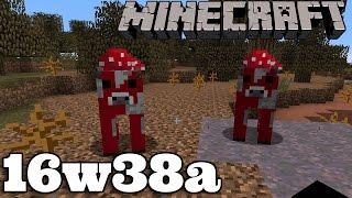 Minecraft 16w38a : Ogranicznik mobów w bloku & wyłączanie pogody