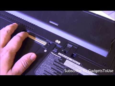 Panasonic Toughbook Laptop CF 54 Hands On Review, Fetaures And Overview