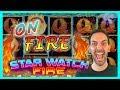 Star Watch FIRE 🔥 $10-$27/Spin MAX BET✦ #Konami Brian Christopher Slots