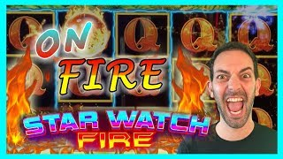 Star Watch FIRE 🔥 $10-$27/Spin MAX BET✦ #Konami Brian Christopher Slots