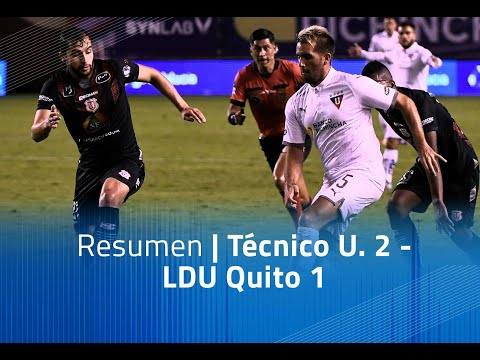 LDU Quito Tecnico U. Goals And Highlights
