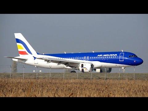 Plane Spotting at Chisinau International Airport (KIV/LUKK) | Moldova | 04.11.2015