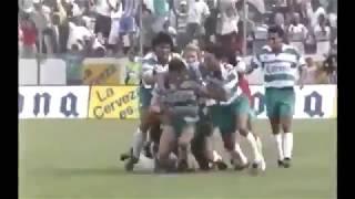 embeded bvideo Primer gol de Jared Borgetti con Santos Laguna