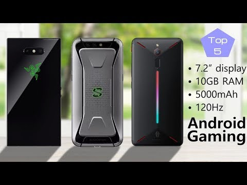 Best Gaming Phone: Top 10 Android Phones for Gamers 2018