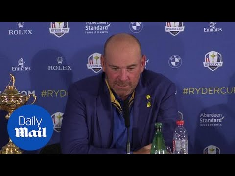 Team Europe captain Thomas Bjorn praises team after Ryder Cup win