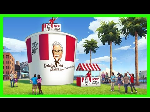 Breaking News | KFC to celebrate 50th birthday with free chicken and gigantic bucket
