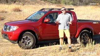 2014 Nissan Frontier PRO-4X Test Drive Video Review