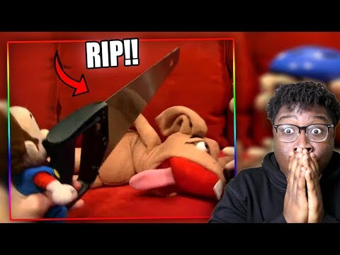MARIO KILLS JEFFY'S DOG! | SML Movie: The Diamond Reaction!