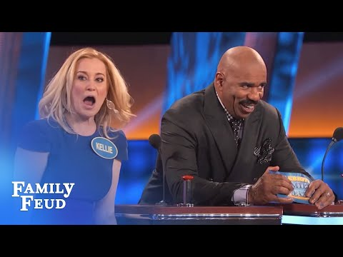 Thumbnail: Kellie Pickler needs a BIGGER BUZZER! | Celebrity Family Feud | OUTTAKE
