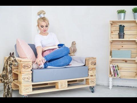 Jak Zrobić Fotel Z Palet?