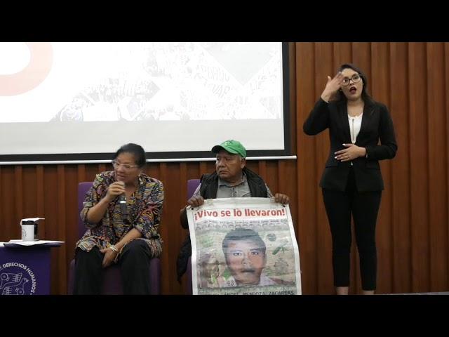 Discurso de Presidenta de CDHCM, Nashieli Ramírez, en evento a 5 años Ayotzinapa