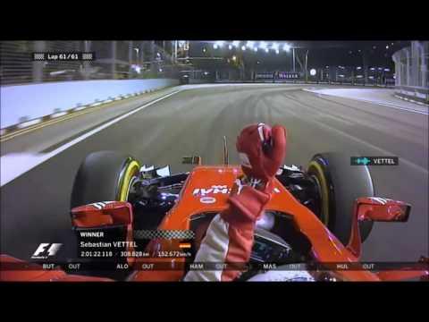F1 2015 Singapore GP Sebastian Vettel Team Radio